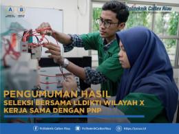 Gambar  PENGUMUMAN MAHASISWA BARU PCR KERJASAMA DENGAN PNP