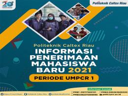 Gambar INFORMASI PENERIMAAN MAHASISWA BARU 2021 PERIODE UMPCR 1