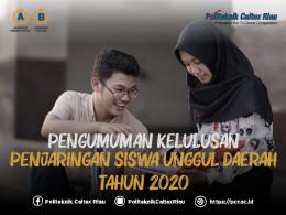 Gambar PENGUMUMAN HASIL SELEKSI PSUD & BEASISWA YPCR 2020