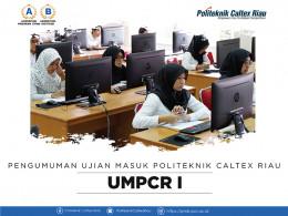Gambar PENGUMUMAN UMPCR I 2019