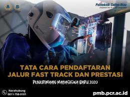Gambar Tata Cara Pendaftaran Jalur Fast Track dan Prestasi