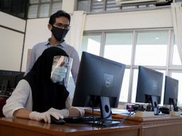 Gambar Terapkan Protokol Kesehatan, PCR Lakukan Seleksi Beasiswa Bidikmisi Pemprov Riau